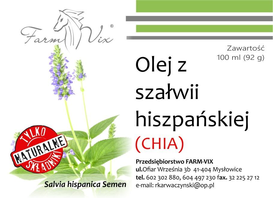 Olej z szałwii hiszpańskiej (CHIA)