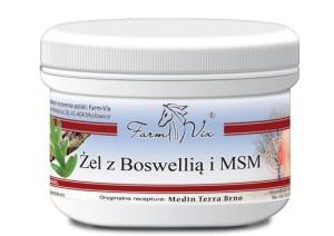 Żel z boswellią i MSM