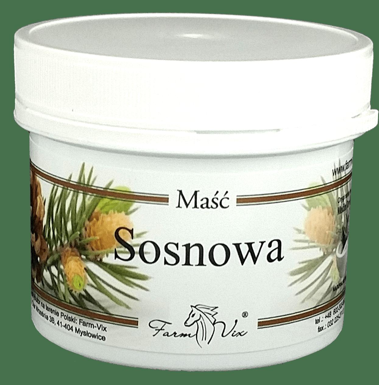 Maść Sosnowa