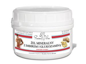 Żel Mineralny z Imbirem i Glukozaminą