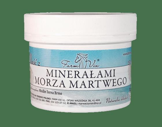 Maść z minerałami morza martwego